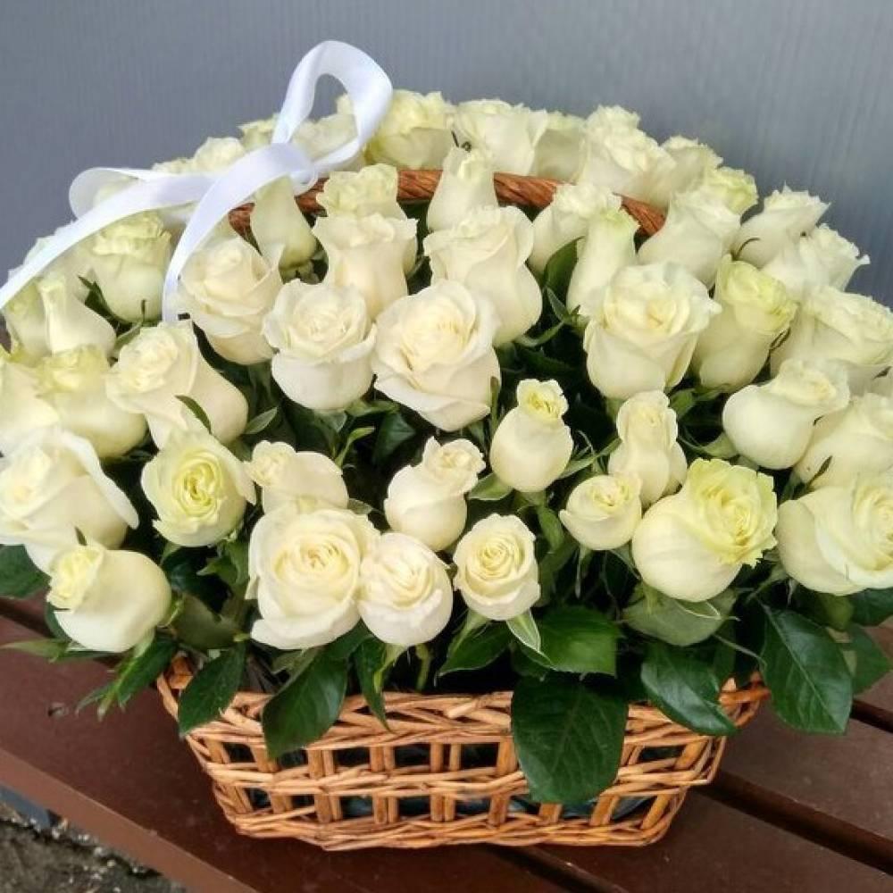 открытка шикарный букет белых роз этого кажется